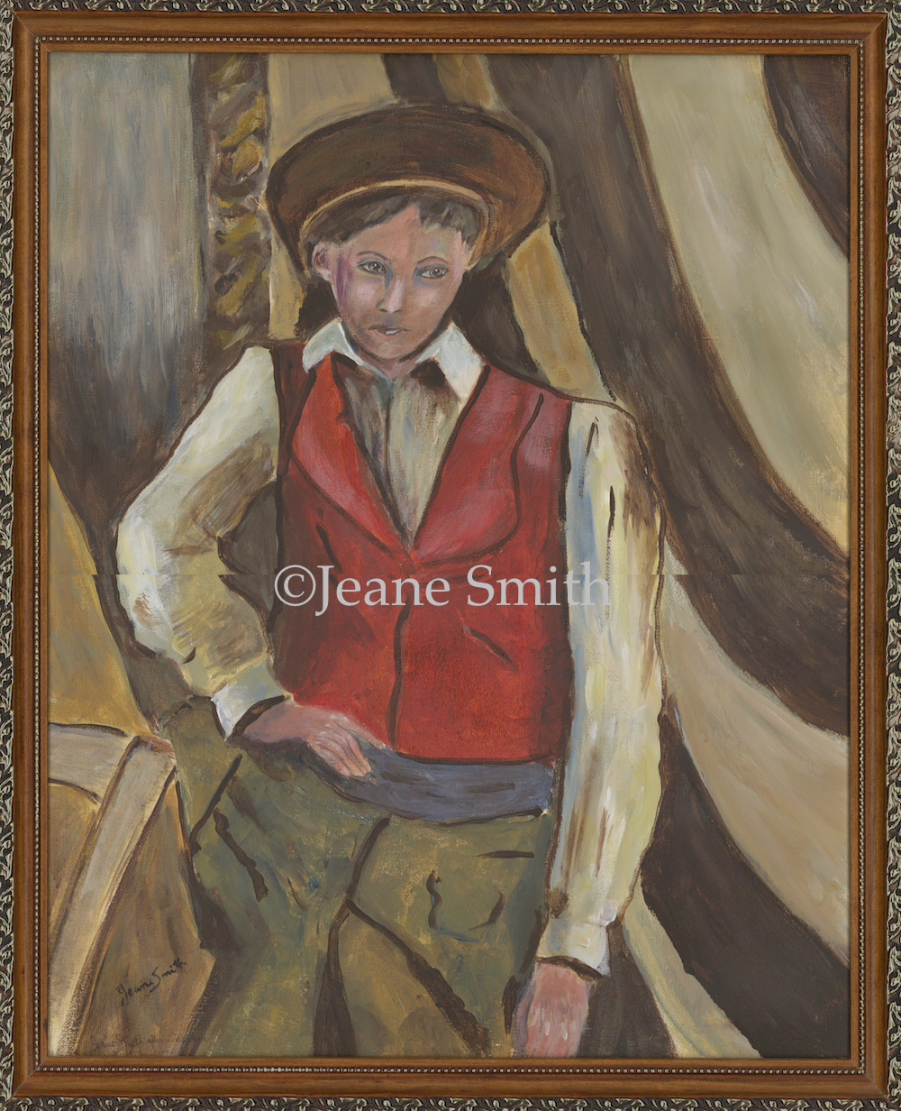 The Boy in the Red Vest